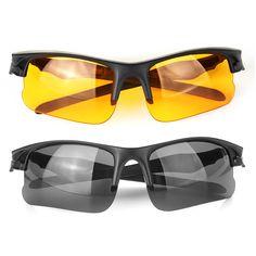 fb2310a62 1PC Gafas de sol a prueba de viento Hombres Mujer Ciclismo Gafas Coche  Gafas de conductor