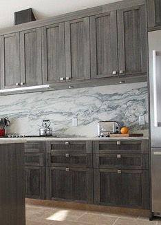 Kitchen | Bathrooms | Maple Timberline Graphite Cabinets