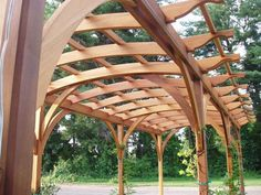 Pathway Pergola Lattice Panels