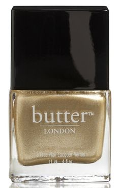 THE FULL MONTY NAIL LACQUER Does what it says on the bottle. Full-on molten gold nail lacquer. A beautiful colour that is always classy, never brassy.