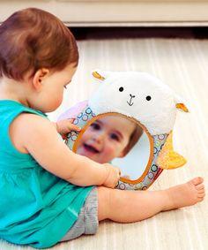 Love this Lamb Hug & Hide Peekaboo Mirror by Skip Hop on #zulily! #zulilyfinds