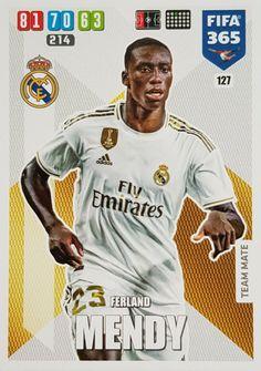 Fotbalové kartičky FIFA 365 XL 2018 Eden Hazard, Gareth Bale, Real Madrid, Fifa, Baseball Cards, Sports, Hs Sports, Sport