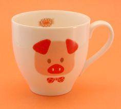 Royal Production Piggy Mug (Made in Japan)