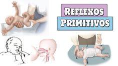 Reflexos primitivos em bebês