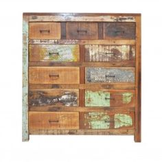Nirvana Recycled Chest of 11 Drawers