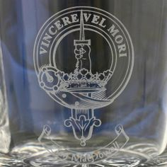 Clan Crest Whisky Glasses