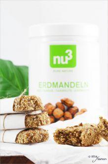 Erdmandel-Quinoa-Riegel | A Little Fashion | https://www.filizity.com/food/erdmandel-quinoa-riegel