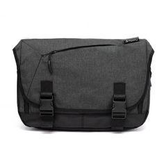 TOPPU Mens Messenger Bag - S. Korea School College Backpack for Men , Waterproof ,13 Laptop Compartment, Front zip pocket