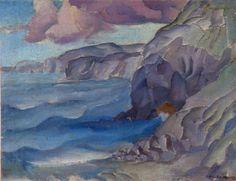 1926. Tomahawk. Robert Nettleton fields. NZ artist.