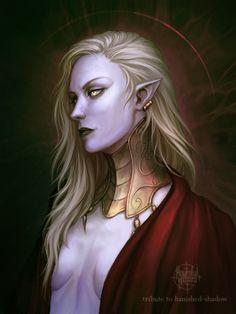 Grumpy Elven Necromancer