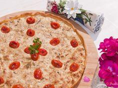 Receta Plato : Quiche de caballa fresca con tomates por Frabisa