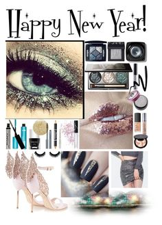 """""""New Year: Glitterfest"""" by kalisahgemini ❤ liked on Polyvore featuring beauty, Chantecaille, NARS Cosmetics, Christian Dior, Bobbi Brown Cosmetics, NYX, Eyeko, Urban Decay, Anastasia Beverly Hills and Nails Inc."""