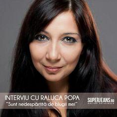 Interviu cu Raluca Popa (Raluxa) http://blog.superjeans.ro/2013/03/sunt-nedespartita-de-blugi-interviu-cu-raluca-popa-raluxa/