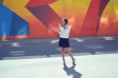 Crochet Pleated Mini Skirt - HARTLove718