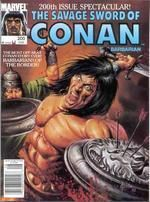 A cover gallery for the comic book Savage Sword of Conan Marvel Comics, Conan Comics, Red Sonja, Comic Book Heroes, Comic Books, Conan The Conqueror, Roman, Conan The Barbarian, Sword And Sorcery