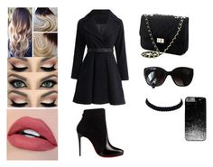 """""""Untitled #567"""" by madalena-volturi ❤ liked on Polyvore featuring Christian Louboutin and Chanel"""