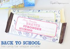 sugartotdesigns: back to school candy bar wrappers {free printable}