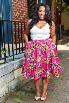 African Print Midi Skirt, Circle Skirt, Vintage Inspired skirt, Modern African Print Skirt, African Clothing, Latest African Fashion, African Prints, African fashion styles, African clothing, Nigerian style, Ghanaian fashion, African women dresses, Nigerian fashion, Ankara