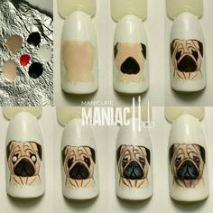 Animal Nail Designs, Animal Nail Art, Colorful Nail Designs, Nail Art Designs, Manicure, Nail Art Techniques, School Nails, Disney Nails, Rainbow Nails