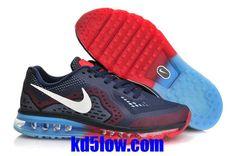 newest f24b8 1dc9b Nike Air Max 2014 Mens Midnight Navy Cym Red and Blue Lemonade 621077 416  /Half