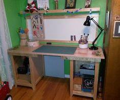 Mesa de desenho / mesa de artesanato