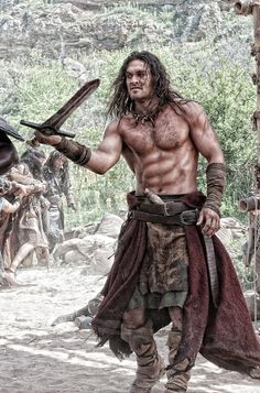 6 Movies To Appreciate The Wonder That Is Jason Momoa. The filmogrphy of Jason Momoa. With very strong and unique looks and a bubbly personality, Jason Momoa has become one of those actors you just can't help but love. Jason Momoa Conan, Jason Momoa Aquaman, Jason Momoa Body, Man Movies, Good Movies, Gorgeous Men, Beautiful People, Conan Movie, Hot Men