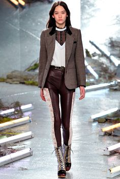 I'll bet H&M is already working on their version of these leggings. Rodarte - Fall 2015 Ready-to-Wear - Look 5 of 38