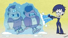 Commission for Killer Frost Luna design by [COMM] Killer Frost Luna vs. Hank and Hawk (OC) The Loud House Luna, Killer Frost, Fine Girls, Cute Memes, 16 Year Old, Dc Comics, Anime, Animation, Deviantart