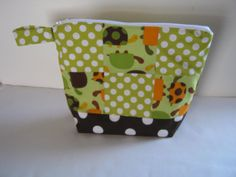 SALE Med Size Patch Work Wet Bag Heat Sealed by lizzysueandher2, $22.99