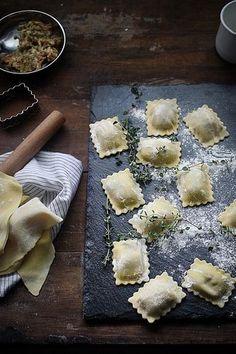 Food Inspiration  Homemade ravioli