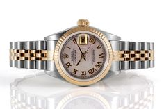 Rolex Datejust Lady YG/SS Mother of Pearl 69173 $3,200