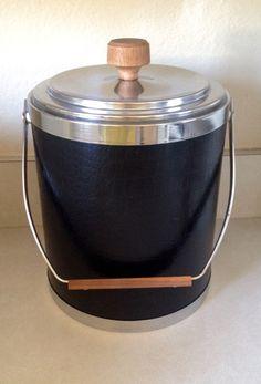 Mid century Kromex ice bucket. $6 at goodwill.