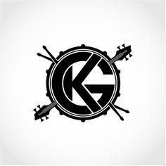 GK Rhythm Section logo concept - by James Kontargyris