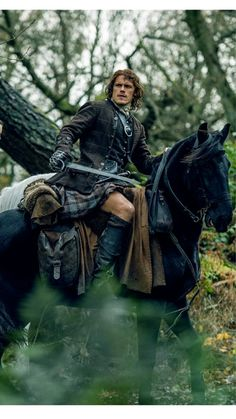 Outlander Season Two: Jamie Fraser