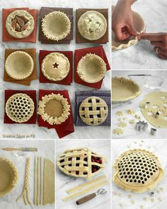 Make the Thanksgiving Day pie extra special with these pastry ideas.