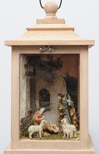 Karl-Heinz Exner, Krippenbaumeister Diy Online, Diy Nativity, Christmas Crafts, Christmas Decorations, Art Deco Bedroom, Art Model, Wood Art, Lanterns, Arts And Crafts