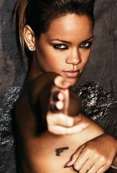 I love RIhanna. my inspiration with fashion. best music to sing and dance too. just a bad biotch lol