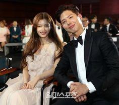 Kim Yoo Jung and Park Bo Gum at the 53rd Baeksang Arts Awards