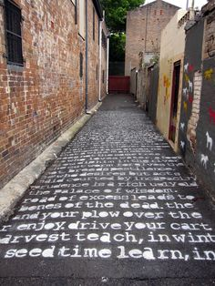 The Marriage Of Heaven And Hell – William Blake. Sydney, Australia. | 28 Brilliant Works Of Literary Graffiti