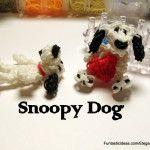 Snoopy Dog Figure