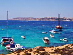 The sea of Comino Malta Gozo, European Countries, Archipelago, Adventure Is Out There, Alexandria, Sicily, Coast, Wanderlust, Sea