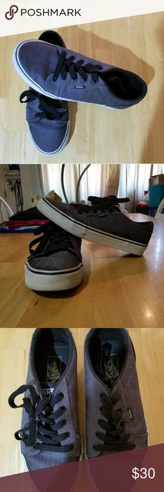 Spotted while shopping on Poshmark: Silver and Black Stripped Vans! #poshmark #fashion #shopping #style #Vans #Other