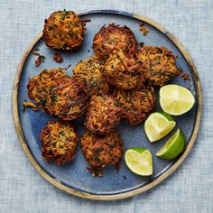 Sweet potato and quinoa fritters - Yotam Ottolenghi's party food recipes Healthy Recipes, Veggie Recipes, Vegetarian Recipes, Snack Recipes, Cooking Recipes, Vegetarian Canapes, Vegetarian Sandwiches, Vegetarian Dinners, Vegetarian Cooking