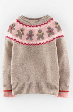 Mini @boden festive sweater with fair isle gingerbread men. Seriously, another moment I wish they recreated this for adults! I love nostalgia & whimsy during the holidays.