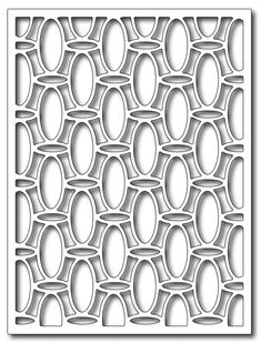 Frantic Stamper Precision Die - Beaded Card Panel,$24.99