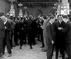 "railwayshoes: "" Actual human projectile Buster Keaton. """