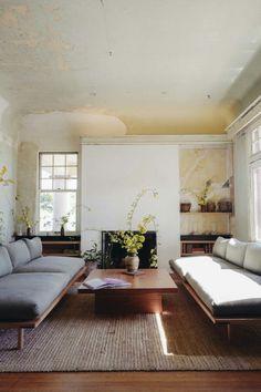 Neutral living room. Living room that feels calm. #livingroom