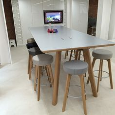 Office Problems Solved » Tall Tables   High Tables   High Benches