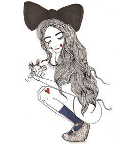 Love all Chrissy Lau's artwork for @garypeppergirl