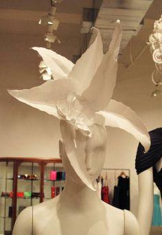 Jeffrey Paper Wigs (Atlanta Installation) By: Nikki Salk and Amy Flurry